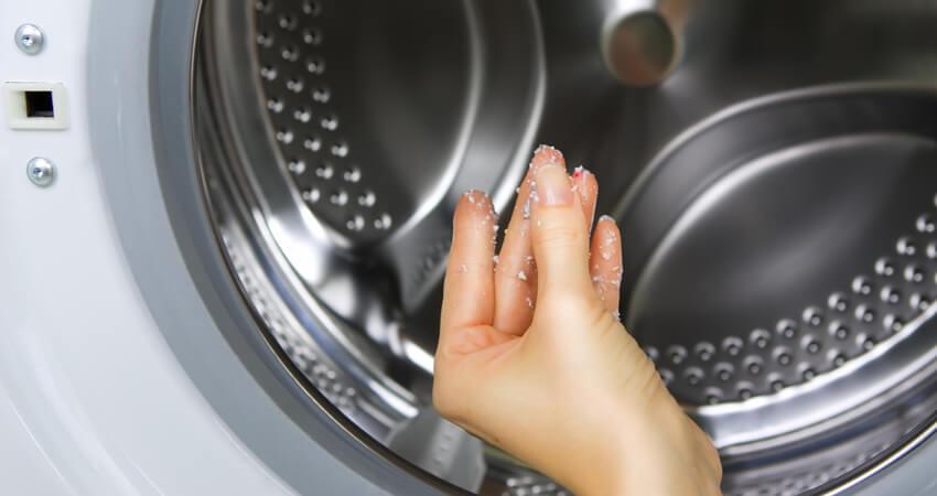como limpar a parte interna da máquina de lavar