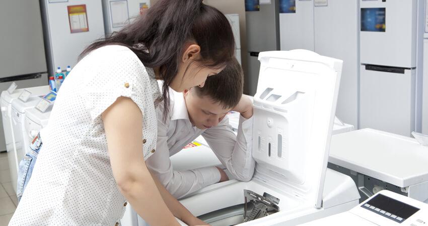qual o tamanho da máquina de lavar para uma família pequena