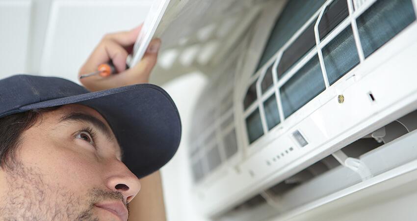 Verifique se a instalação do ar condicionado foi feita corretamente